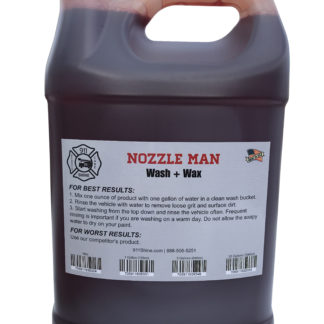 """Nozzle Man"" Wash + Wax"